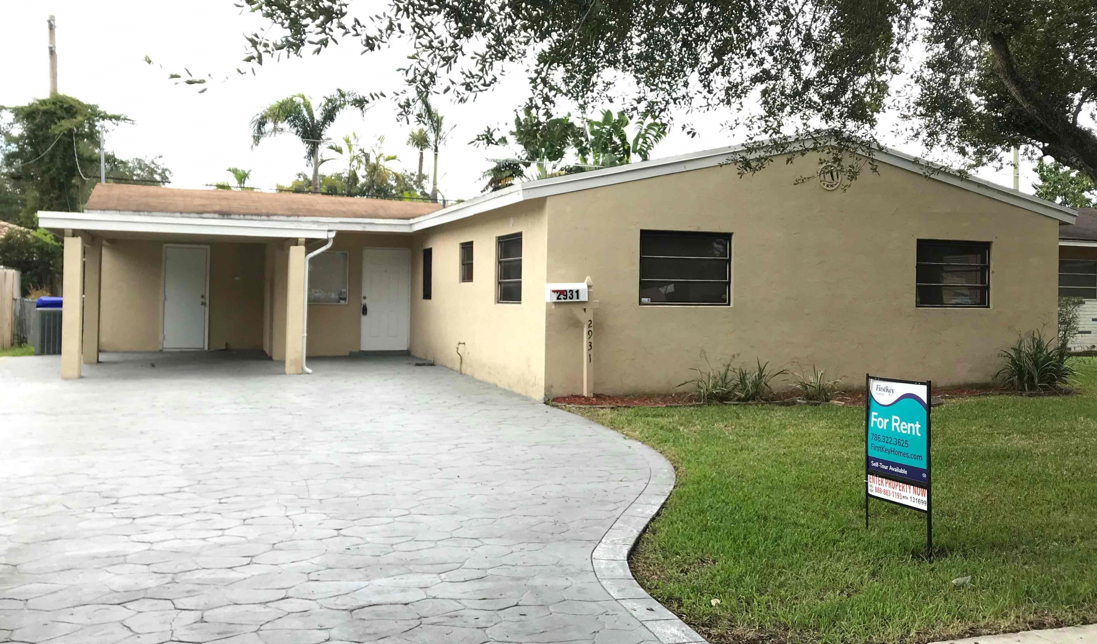 2931 N 66 Ave Hollywood, FL 33024 4 Beds House For Rent Photo Gallery 1