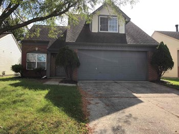 6843 Owls Nest Indianapolis, IN 46254 3 Beds House for Rent Photo Gallery 1