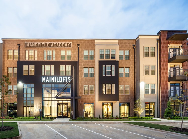 Spacious Parking Available at Main Street Lofts, Mansfield