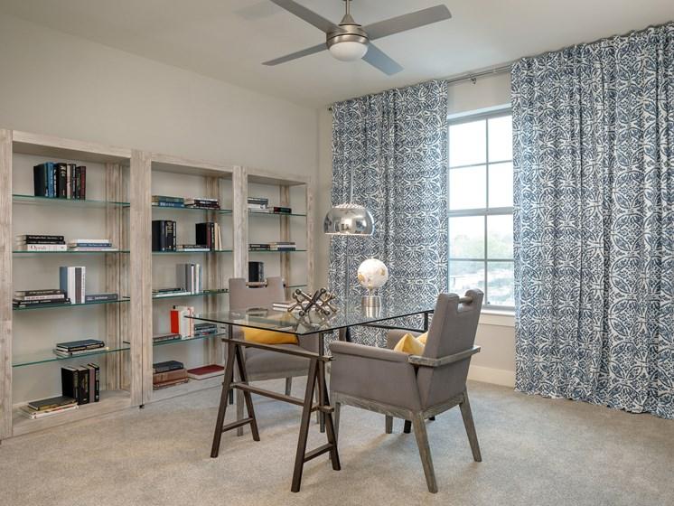 Beautiful Window Coverings at Main Street Lofts, Mansfield, TX 76063