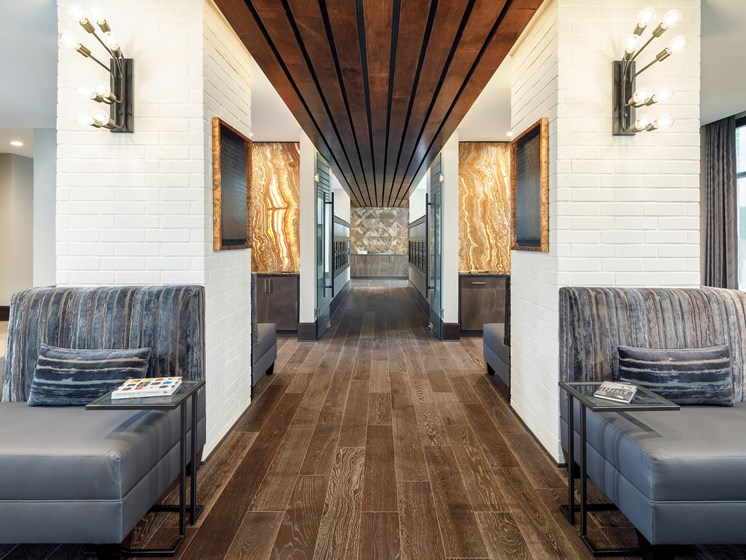 Newly Renovated Clubhouse at Main Street Lofts, Mansfield
