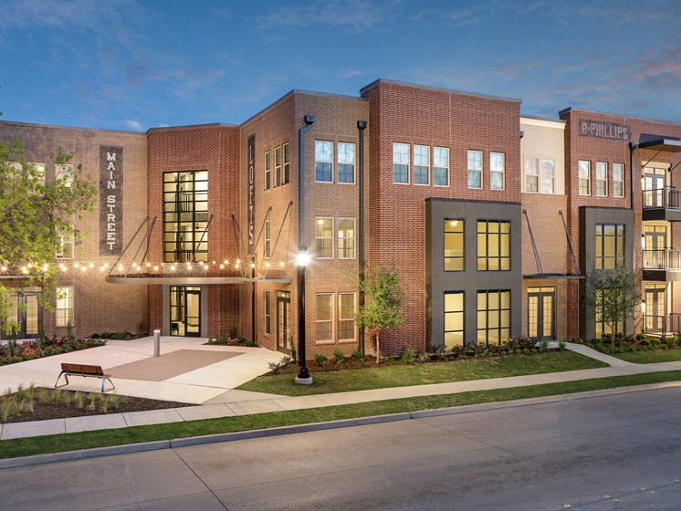 New Apartments at Main Street Lofts, Mansfield, 76063