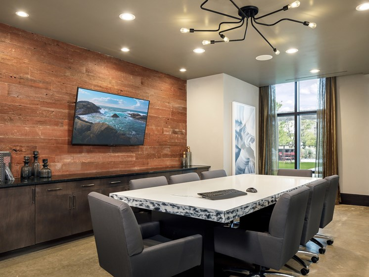 Conference Room at Main Street Lofts, Mansfield, 76063