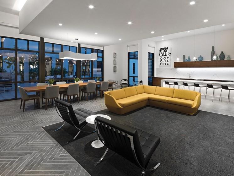 Resident Club Lounge at Avanti, St. Petersburg, FL, 33701
