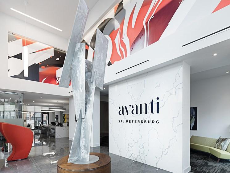 Leasing Office at Avanti, St. Petersburg, FL, 33701
