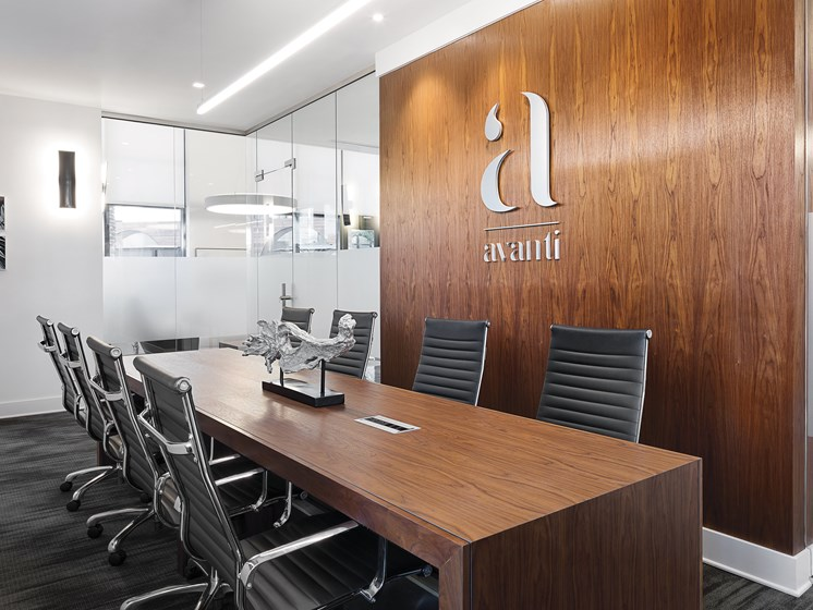 Conference Room at Avanti, St. Petersburg, FL, 33701
