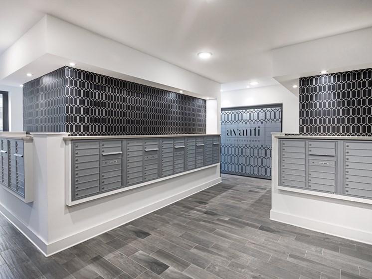 Mail Room at Avanti, St. Petersburg, FL, 33701