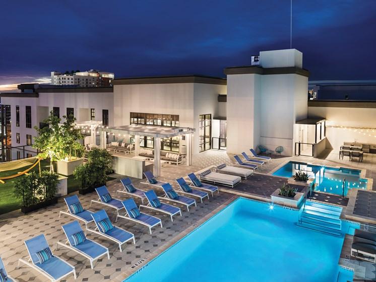 Sparkling Pool at Avanti, St. Petersburg, FL, 33701