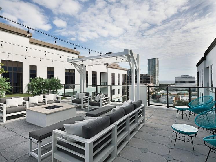 Outdoor Lounge at Avanti, St. Petersburg, FL, 33701