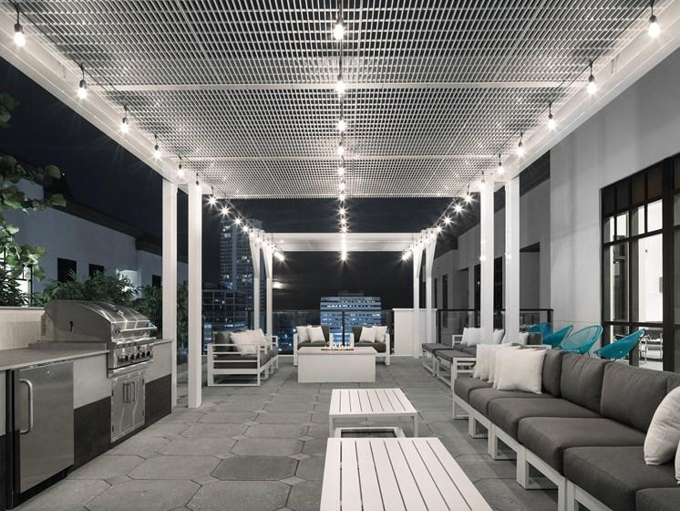Indoor Resident Lounge at Avanti, St. Petersburg, FL, 33701