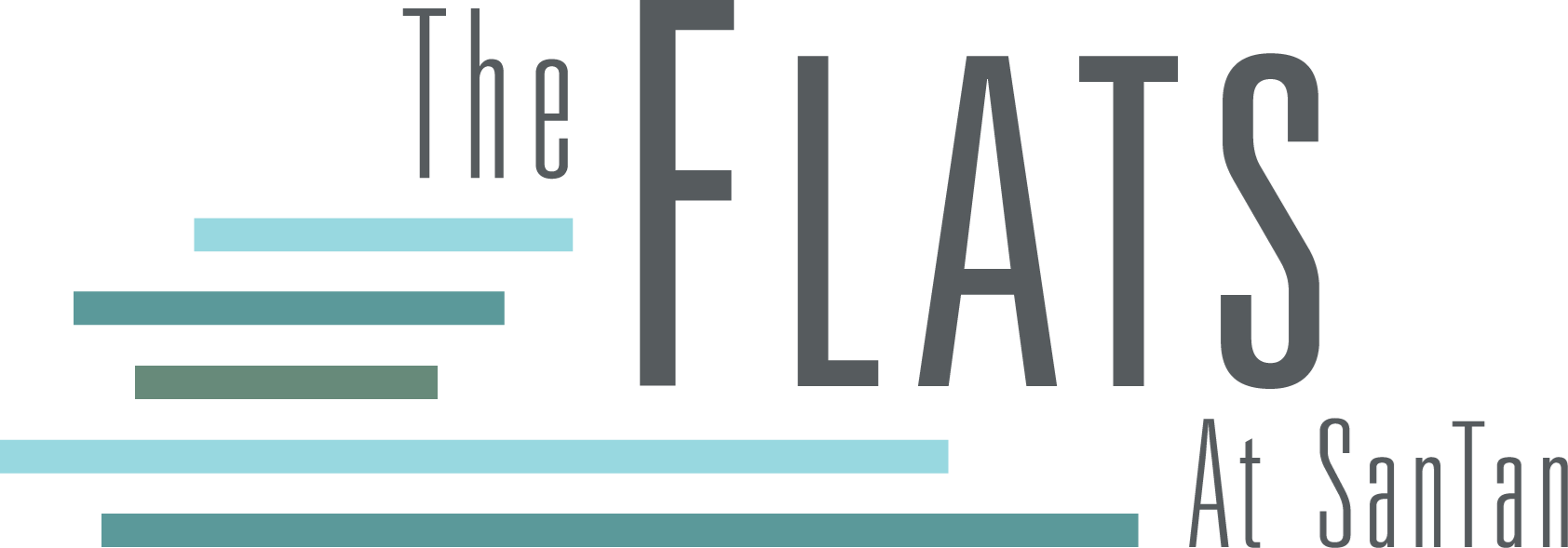 Logo at the Flats at San Tan, 2550 S. San Tan Village Parkway, Gilbert, AZ 85295