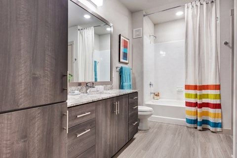 Bathrooms with ample storage