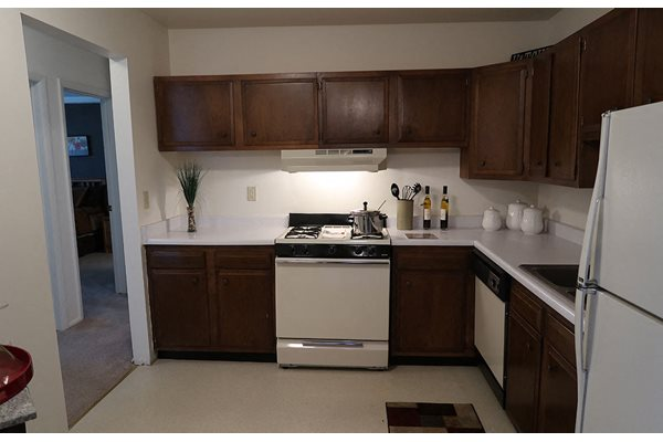 Fully Equipped kitchen at Mission Hills Apartments, Franklin, 53132