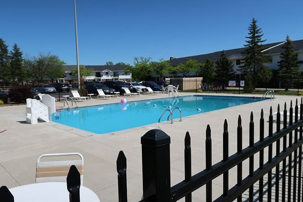 Sparkling Pool at Mission Hills Apartments, Wisconsin, 53132