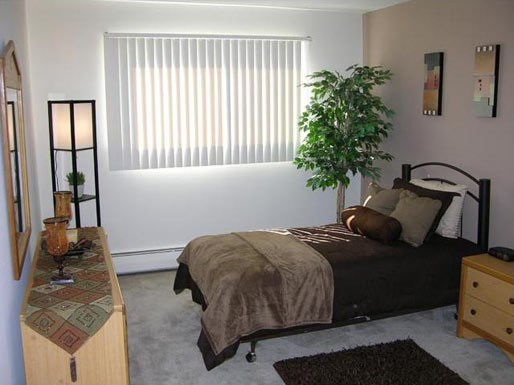 Renovated Bedroom at River Place Apartments, Milwaukee, WI, 53209