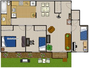 Two Bedroom—2BRD