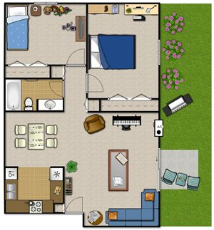 Two Bedroom—2BSM