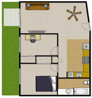 Two Bedroom—2BM