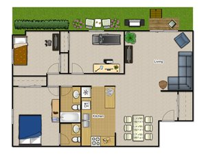 Three Bedroom—3B1.5