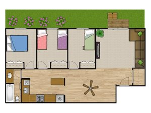 Three Bedroom—3BF