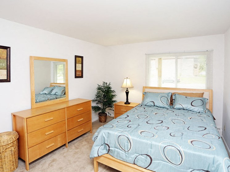 Bedroom at Springtree Apartments in Middleton Wisconsin 53562