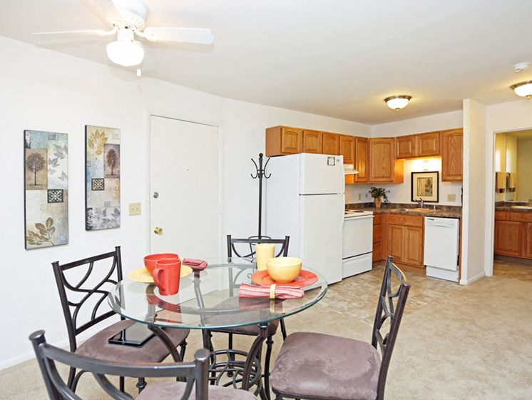 Kitchen at Springtree Apartments in Middleton Wisconsin 53562