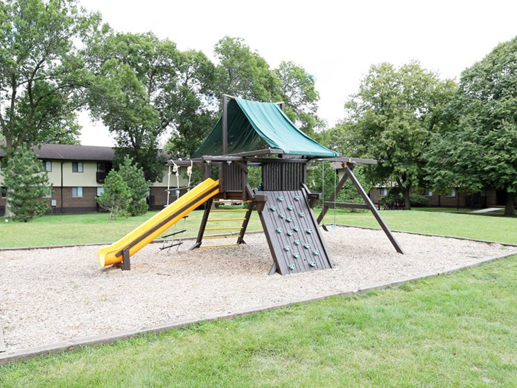Playground at Springtree Apartments in Middleton Wisconsin 53562