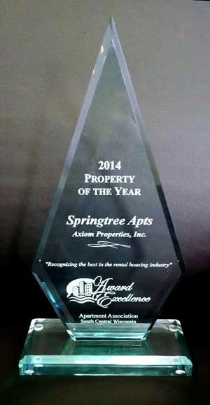 2014 Property of the Year Award