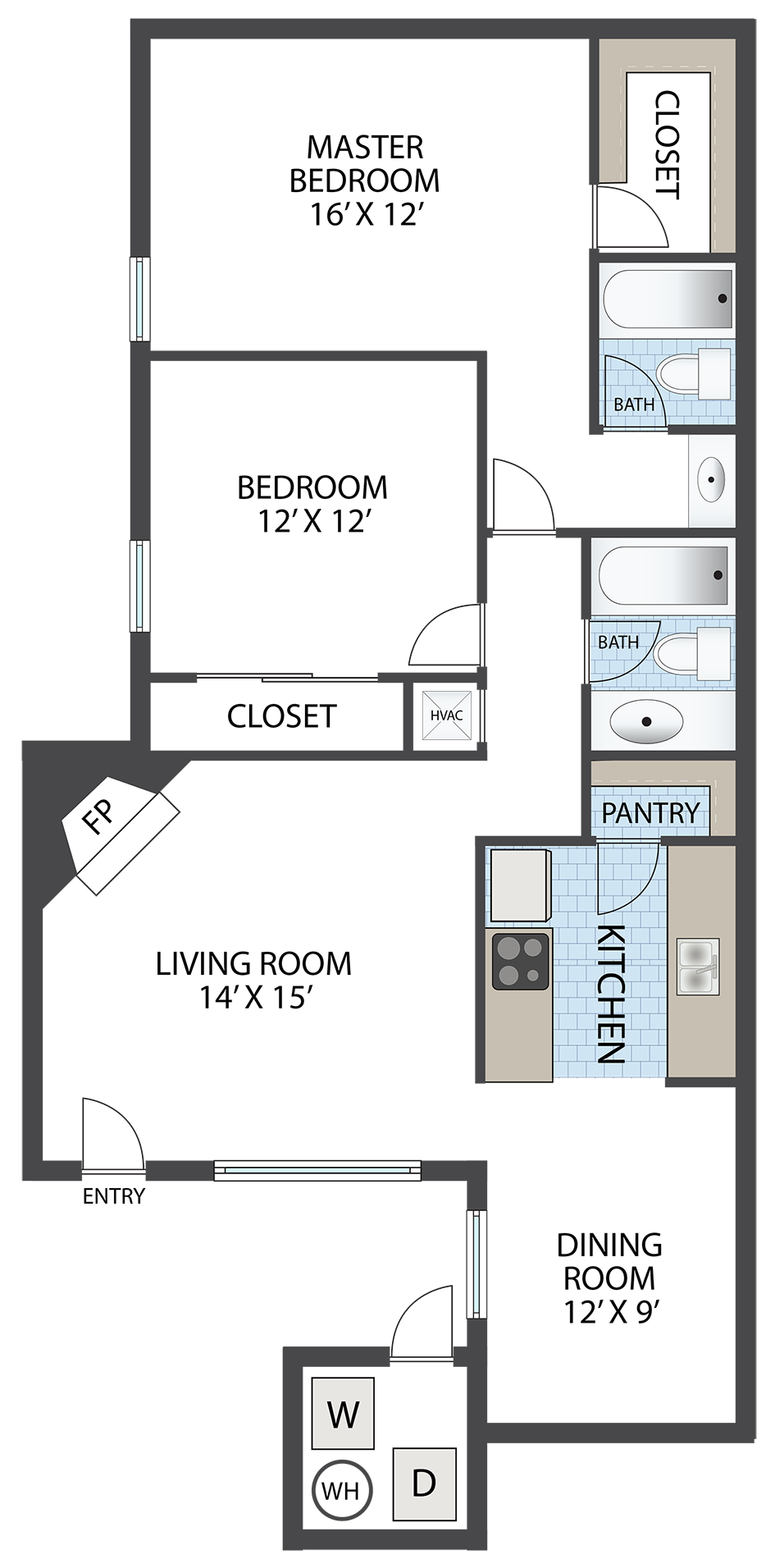 THE VERDE Floor Plan 3