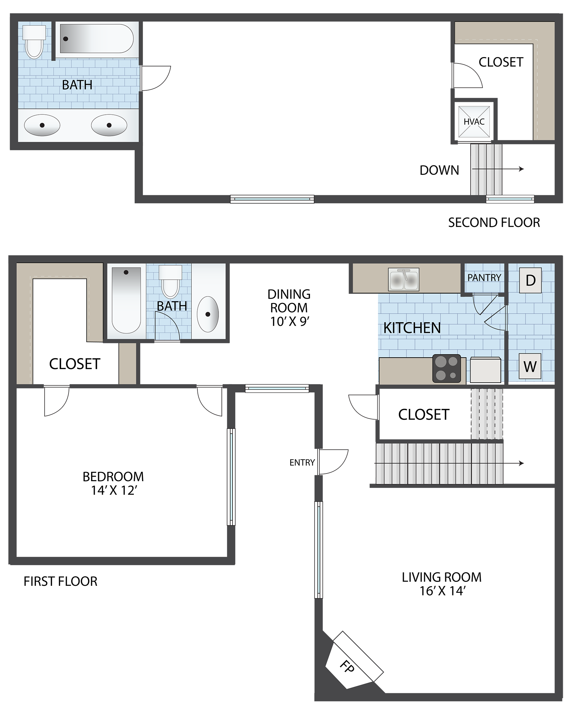 THE SEDONA Floor Plan 4