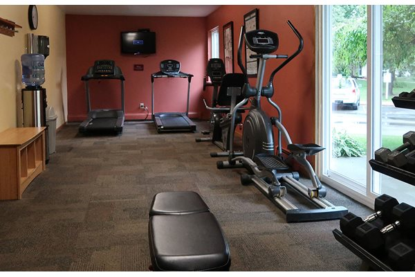 24 hour Fitness Center at The Meadows Apartments, Wisconsin