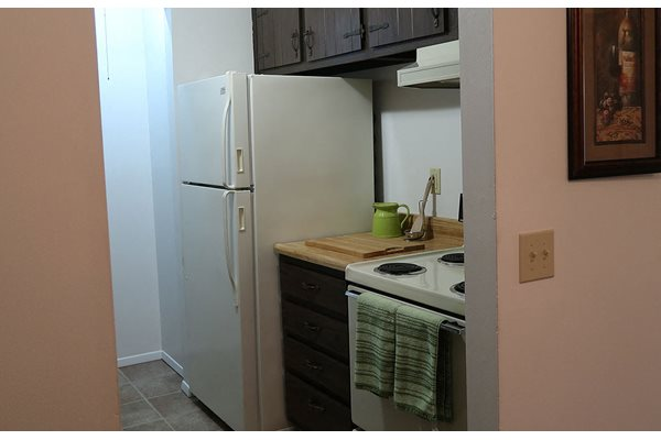 White Appliances Package at The Meadows Apartments, Madison, WI