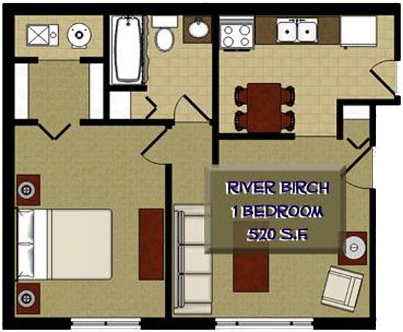 Studio Apartment Joliet Il the birches apartments, 2355 white birch lane, joliet, il - rentcafé