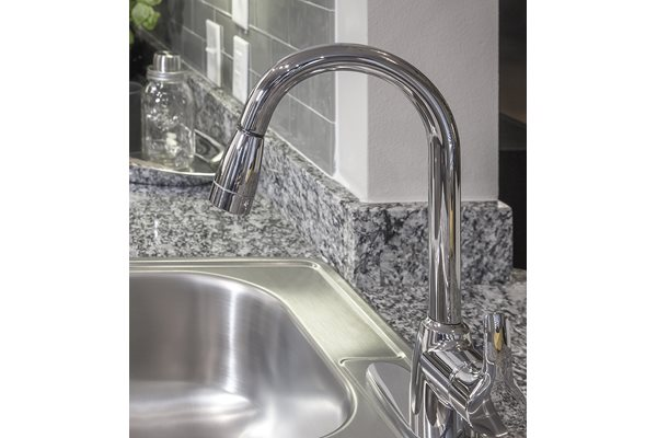 Gooseneck Kitchen Faucet at Venue at the Promenade, 6200 Castlegate West, Castle Rock, CO