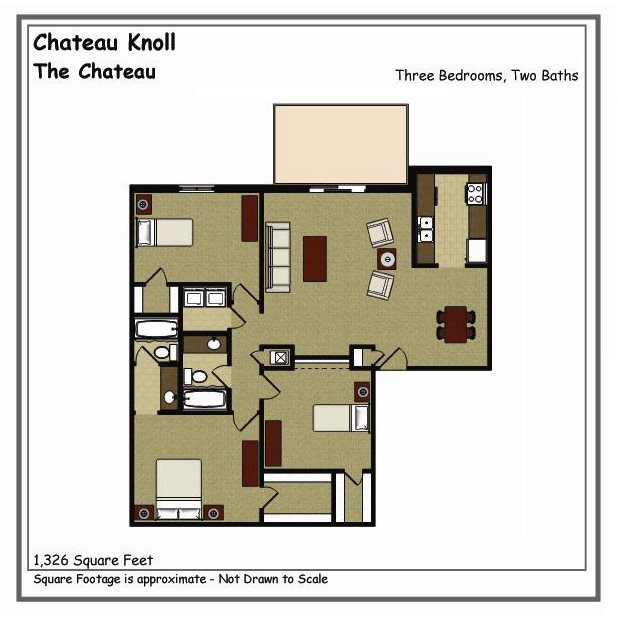 Chateau Floor Plan 9