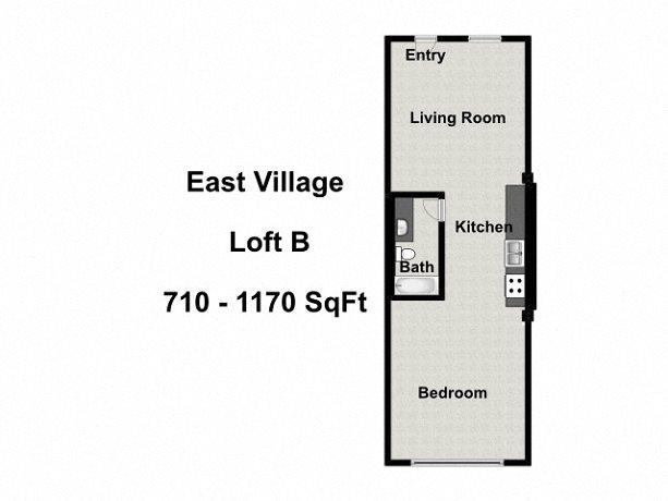 Loft B Floor Plan 2
