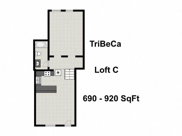 Loft C Floor Plan 3