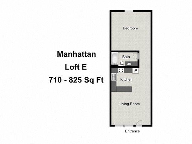 Loft E Floor Plan 5