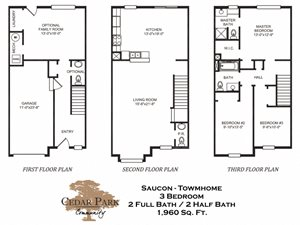 Four Bedroom Townhome