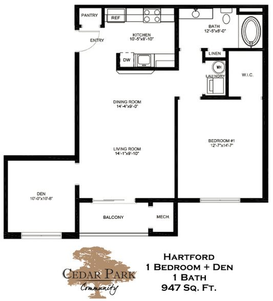 Hartford Floor Plan 2