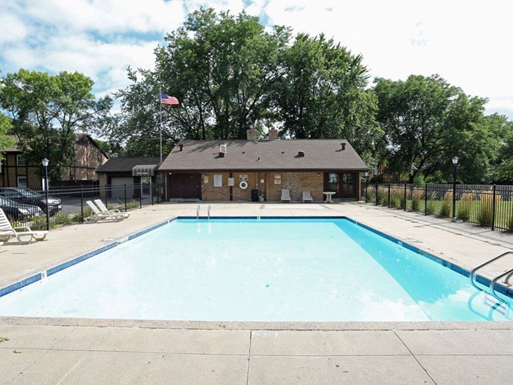 Pool at Kensington Pointe Apartments in Madison Wisconsin