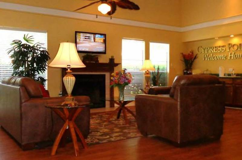 Cypress Pointe Apartment Homes Tallahassee, FL 32309  comfortable clubhouse