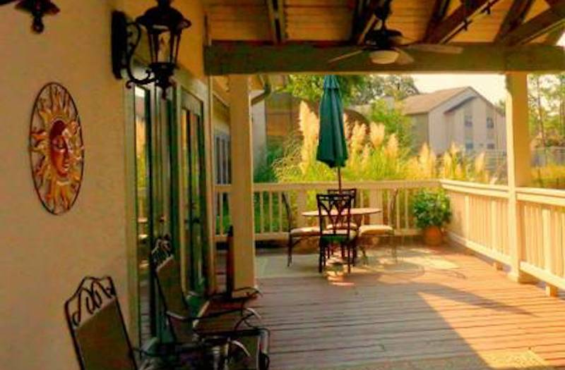 Cypress Pointe Apartment Homes Tallahassee, FL 32309  relaxing deck