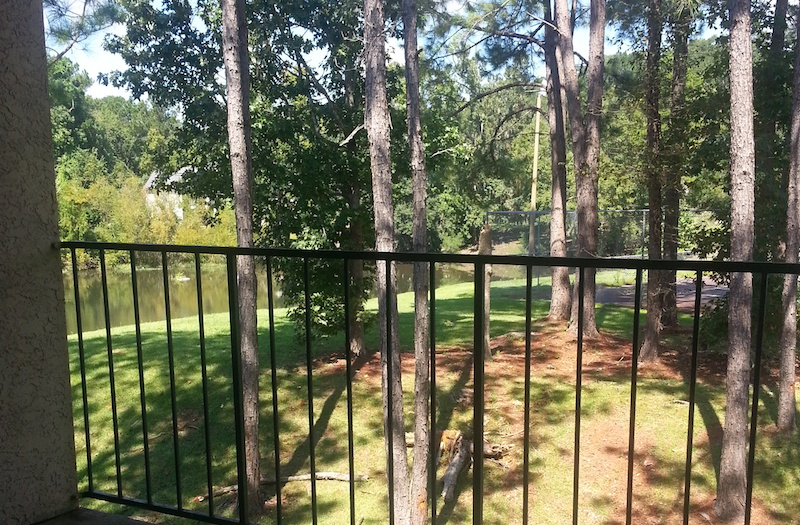 Cypress Pointe Apartment Homes Tallahassee, FL 32309  Balcony View