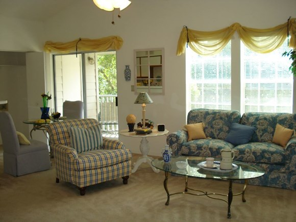 Plantations at Killearn Apartment Tallahassee, FL 32309 comfortable living room