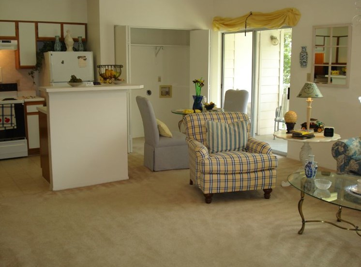 Plantations at Killearn Apartment Tallahassee, FL 32309 kitchen living room combo