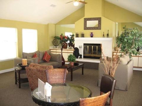 Augustine Club Apartment Homes Tallahassee FL 32301 comfortable living room