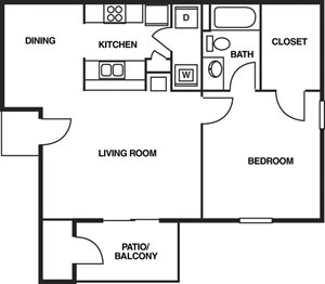 Augustine Club Apartment Homes Tallahassee FL 32301 1 Bedroom 1 Bathroom