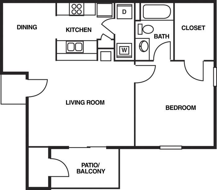 Augustine Club Apartment Homes Tallahassee FL 32301 1 Bedroom 1 Bathroom