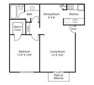 crest floor plan | Avesta Altura Apartments in Riverside Austin, Tx
